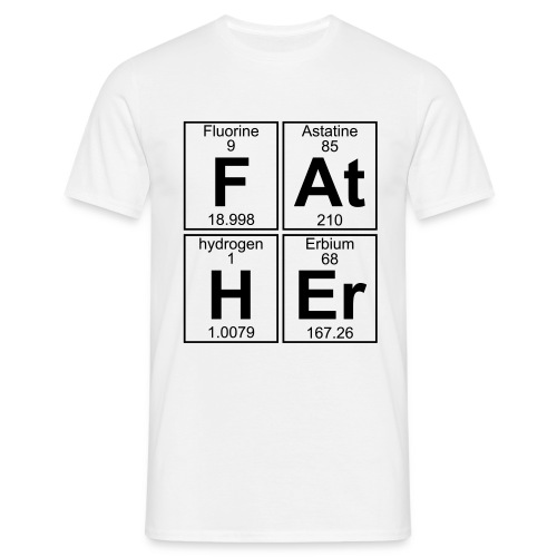 F-At-H-Er (father) - Men's T-Shirt