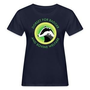 Dorset for Bagder and Bovine Welfare (Logo) - Women's Organic T-shirt