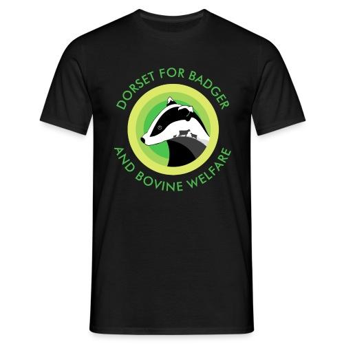 Dorset for Bagder and Bovine Welfare (Logo) - Men's T-Shirt