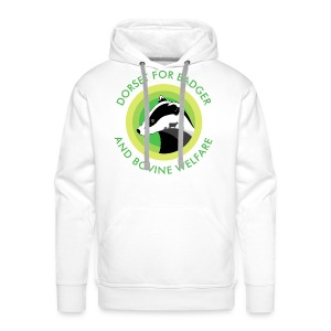 Dorset for Bagder and Bovine Welfare (Logo) - Men's Premium Hoodie