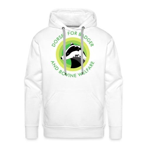 Dorset for Bagder and Bovine Welfare (Logo) - Men's Premium Hoodie