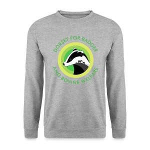 Dorset for Bagder and Bovine Welfare (Logo) - Men's Sweatshirt