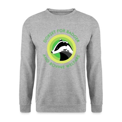 Dorset for Bagder and Bovine Welfare (Logo) - Men's Sweatshirt