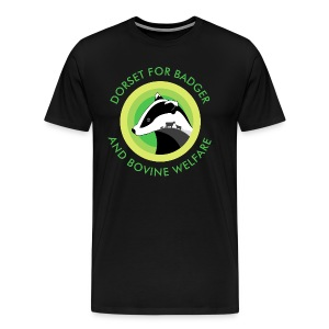 Dorset for Bagder and Bovine Welfare (Logo) - Men's Premium T-Shirt