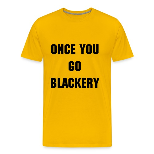 Mens Yellow Emma Blackery Tee - Men's Premium T-Shirt