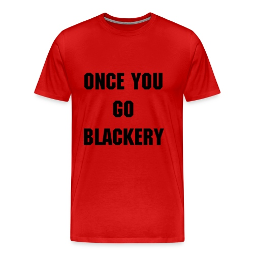 Mens Red Emma Blackery Tee - Men's Premium T-Shirt