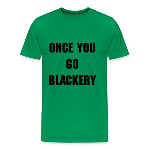 Mens Green Emma Blackery Tee - Men's Premium T-Shirt