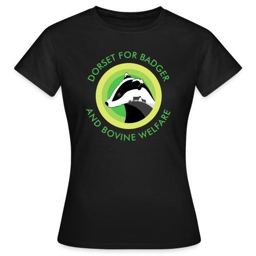 Dorset for Bagder and Bovine Welfare (Logo) - Women's T-Shirt