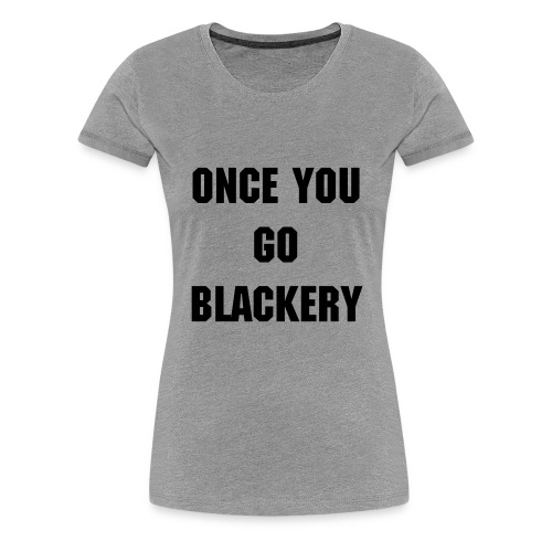 Womens Grey Emma Blackery Tee - Women's Premium T-Shirt