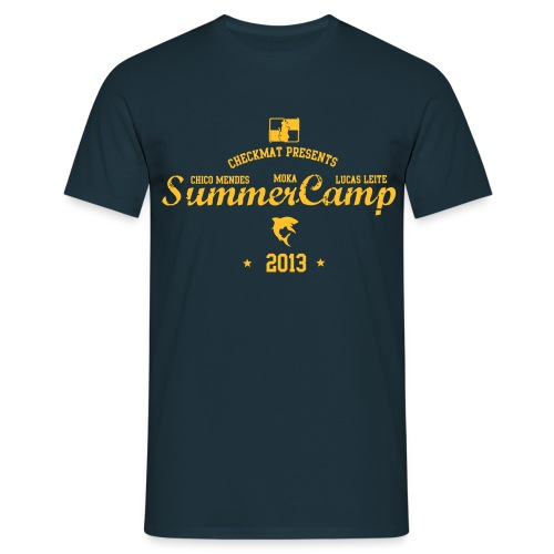 CheckMat Summer Camp T-Shirt 2013 - Herre-T-shirt