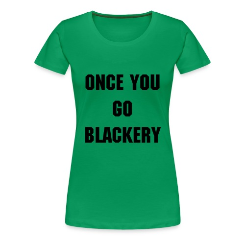 Womens Green Emma Blackery Tee - Women's Premium T-Shirt