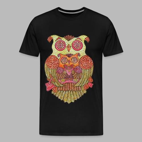 OWL FAMILY - Men's Premium T-Shirt