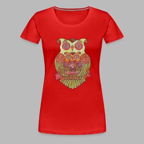 OWL FAMILY - Women's Premium T-Shirt