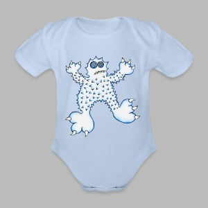 ABOMINABLE!  --------- (3mths-18mths) - Organic Short-sleeved Baby Bodysuit