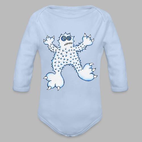ABOMINABLE!  --------- (3mths-24mths) - Organic Longsleeve Baby Bodysuit