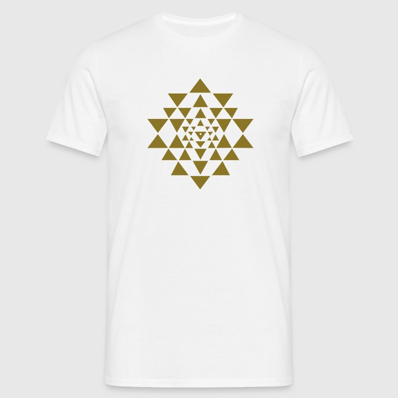 Shri Yantra - Cosmic Energy Conductor Tee shirts - T-shirt Homme