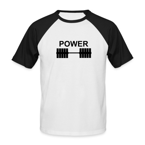 Power - Men's Baseball T-Shirt