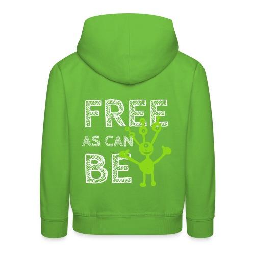 Free As Can Be - Kinder Premium Hoodie