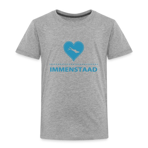 KIDS Immenstaad flock blau - Kinder Premium T-Shirt