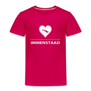 KIDS Immenstaad flock weiß - Kinder Premium T-Shirt
