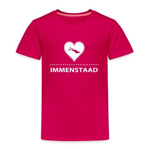 KIDS Immenstaad flock weiß - Kinder Premium T-Shirt
