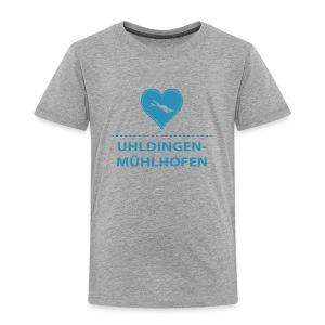 KIDS Uhldingen-Mühlh. flock blau - Kinder Premium T-Shirt