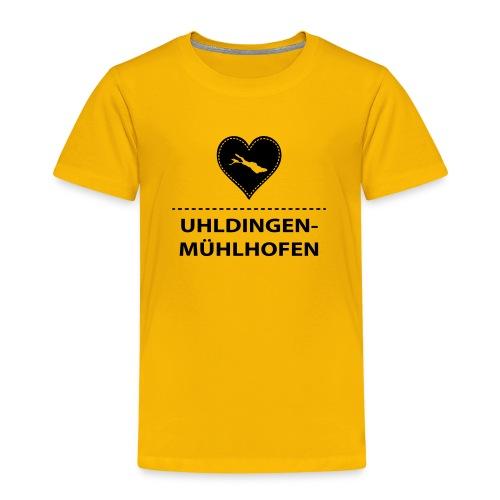 KIDS Uhldingen-Mühlh. flock schwarz - Kinder Premium T-Shirt