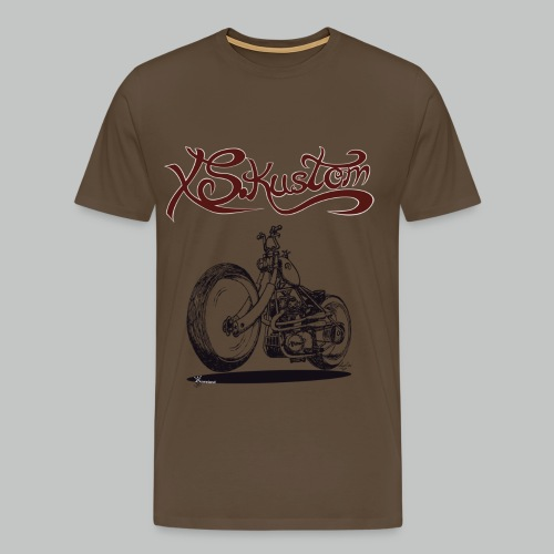 XS Kustom - Khaki green - Men's Premium T-Shirt