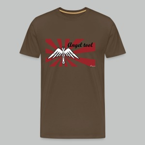 Angel Tool - Khaki green - Men's Premium T-Shirt