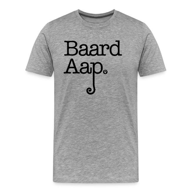 Baard Aap - Men's Shirt (black print)