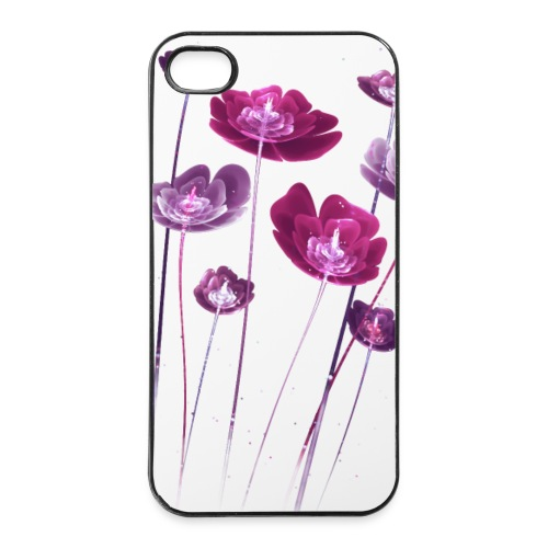Hülle Pink Flower - iPhone 4/4s Hard Case