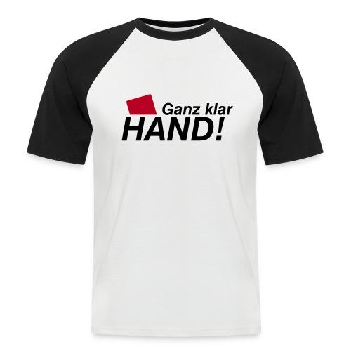 Fun T-Shirt No: 7 - Männer Baseball-T-Shirt