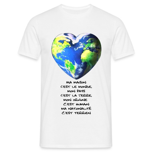 T-SHIRT MONDE HOMME - T-shirt Homme