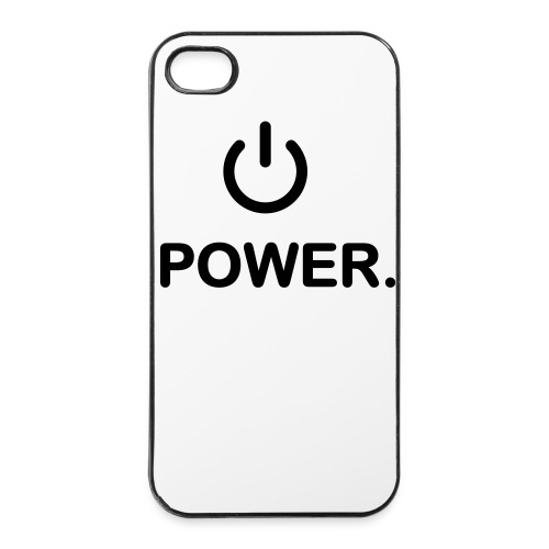 power on button  4/4s  hard case - iPhone 4/4s Hard Case