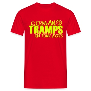 German Tramps on Tour 2013 - Männer T-Shirt
