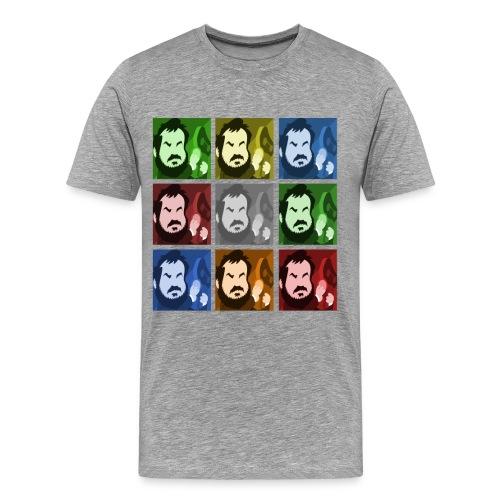 il cubo di Kubrick - Maglietta Premium da uomo