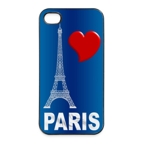 Coque portable love Paris - Coque rigide iPhone 4/4s