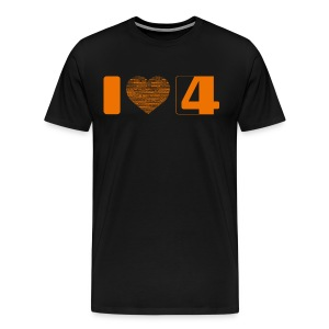 I love S4G T-Shirt Boy - Männer Premium T-Shirt