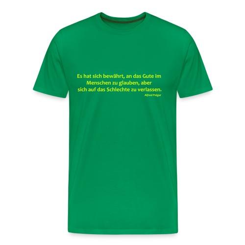 Das Gute im Menschen - Männer Premium T-Shirt