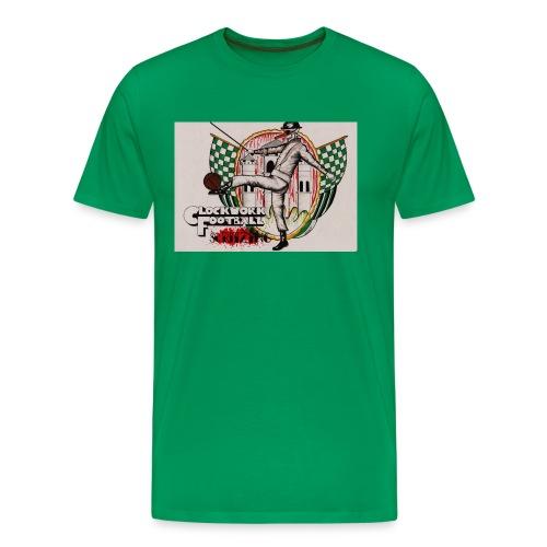 SC Ritzing Clockwork Football - Männer Premium T-Shirt