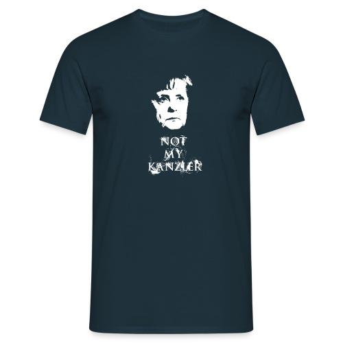 Not my Kanzler - Männer T-Shirt