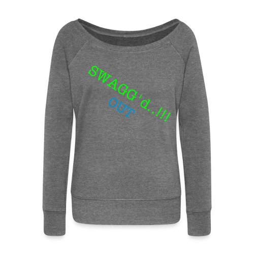 Swagged Up.. JBT - Women's Boat Neck Long Sleeve Top