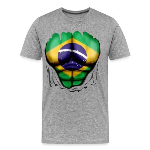 T SHIRT HOMME BRESIL - T-shirt Premium Homme