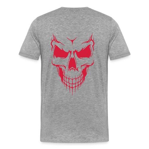 deminic red skull - Men's Premium T-Shirt
