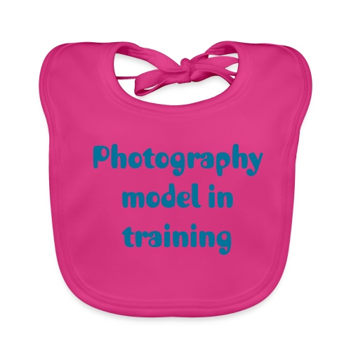 Model in training bib - Baby Organic Bib