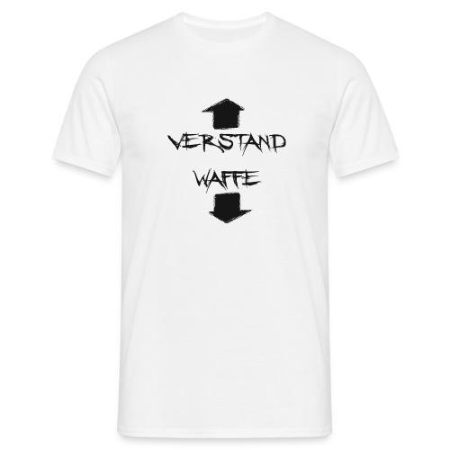 waffe Verstand Sex - Männer T-Shirt