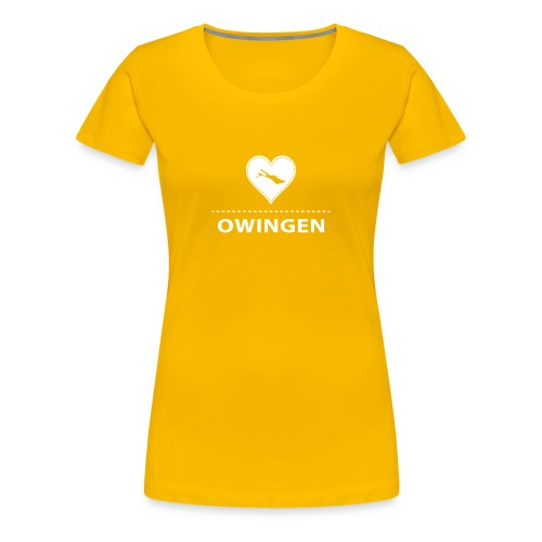 WOMEN Owingen flex weiß - Frauen Premium T-Shirt
