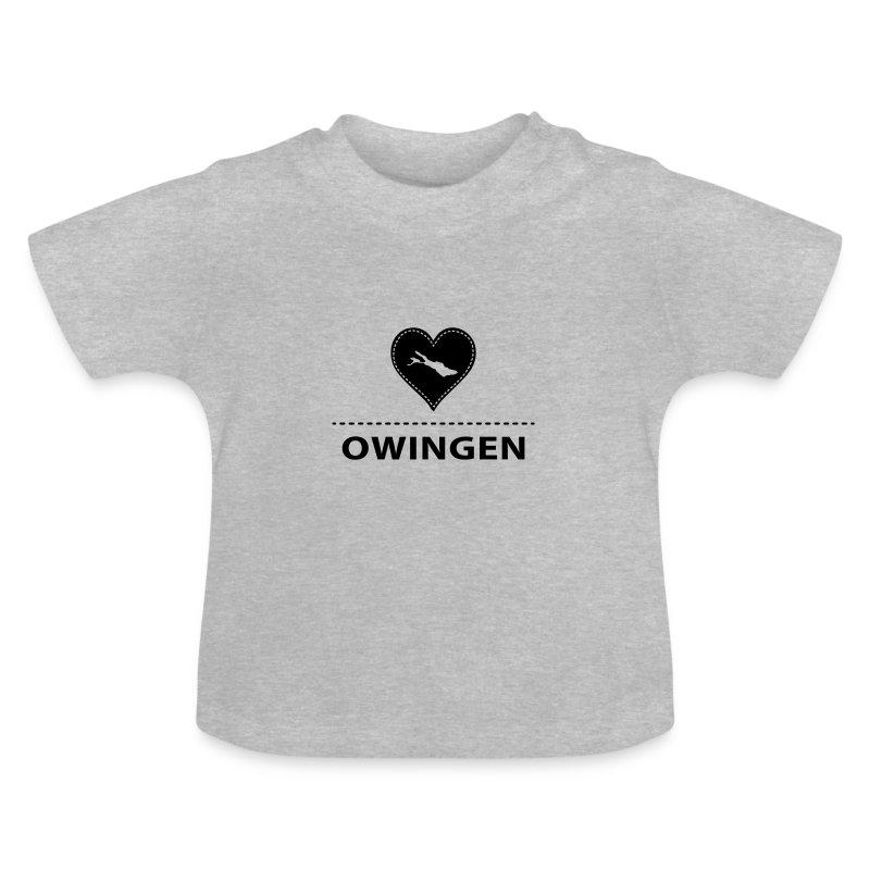 BABY Owingen flex schwarz - Baby T-Shirt