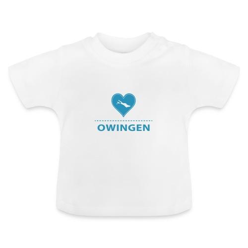 BABY Owingen flock blau - Baby T-Shirt