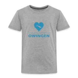 KIDS Owingen flock blau - Kinder Premium T-Shirt